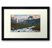 Rocky Peak Framed Print