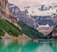 Lake Louise Canoe by James Wheeler
