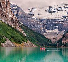 Lake Louise Canoe by James Wheeler