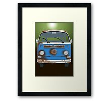 Roger's Ride Framed Print