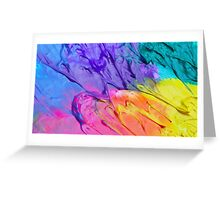 Rainbow Frosting! Greeting Card