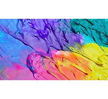 Rainbow Frosting! Photographic Print