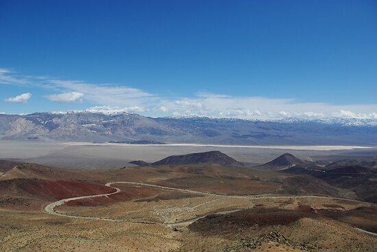 Road to Death Valley by Claudio Del Luongo