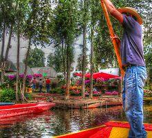 ©MS Xochimilco Trajineras I by OmarHernandez
