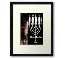 Happy Hanukkah  Framed Print