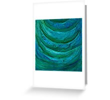 Water by Florida Artist John E Metcalfe Greeting Card
