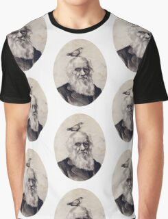Darwin and the Finch Graphic T-Shirt