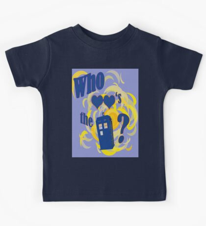 A Whovian Riddle! Kids Tee