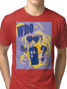 A Whovian Riddle! Tri-blend T-Shirt