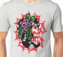 Dia De Los Muertos Gypsy Girl Unisex T-Shirt