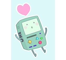 BMO loves you! Photographic Print