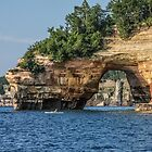 Pictured Rocks National Seashore - Michigan by Mary Warner