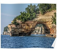 Pictured Rocks National Seashore - Michigan Poster