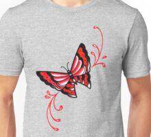 Old School Butterfly Tattoo Flash Unisex T-Shirt