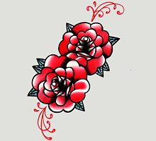 Traditional Rose Tattoo Flash Design T-Shirt