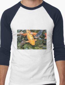 Koi Carp fish Men's Baseball ¾ T-Shirt