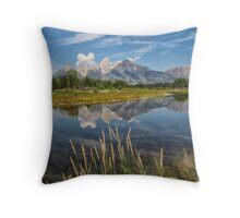 Grand Teton National Park - Wyoming Throw Pillow