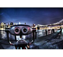 Robot Views Photographic Print