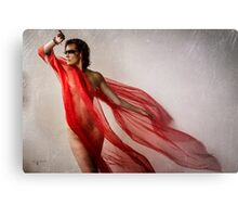The Red Tail Metal Print