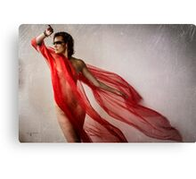 The Red Tail Canvas Print