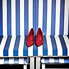 red shoes by Joana Kruse