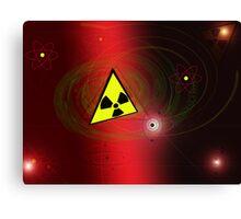 radioactivity Canvas Print