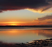 Nature's Window Sunset by JLOPhotography