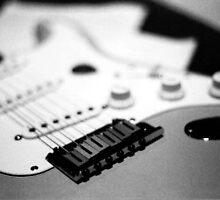 Guitar by divinecurio