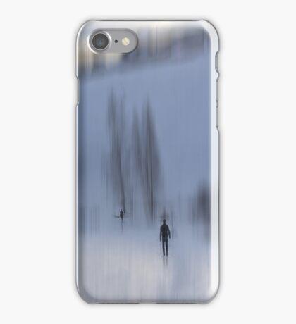 Winter Walk, Fischbacher Alps, Austria iPhone Case/Skin