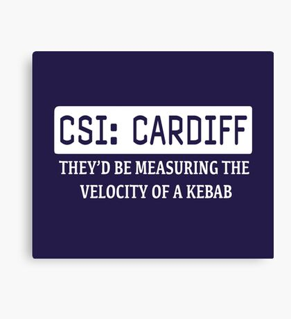 CSI Cardiff Canvas Print