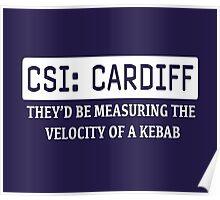 CSI Cardiff Poster