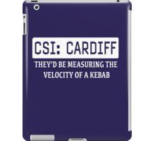 CSI Cardiff iPad Case/Skin