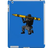 Guerrilla Art by #fftw iPad Case/Skin