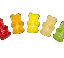 Gummi bears by Joana Kruse