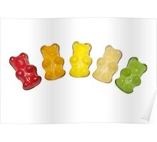 Gummi bears Poster