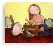 Tickles Canvas Print