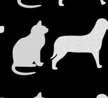 CATS 'N' DOGS VARIOUS APPAREL Sticker