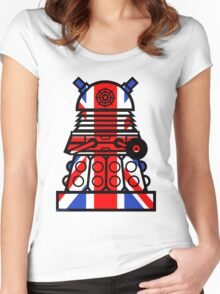 Dr Who - Jack Dalek Women's Fitted Scoop T-Shirt