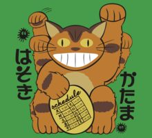 Lucky Catbus Cat Kids Tee
