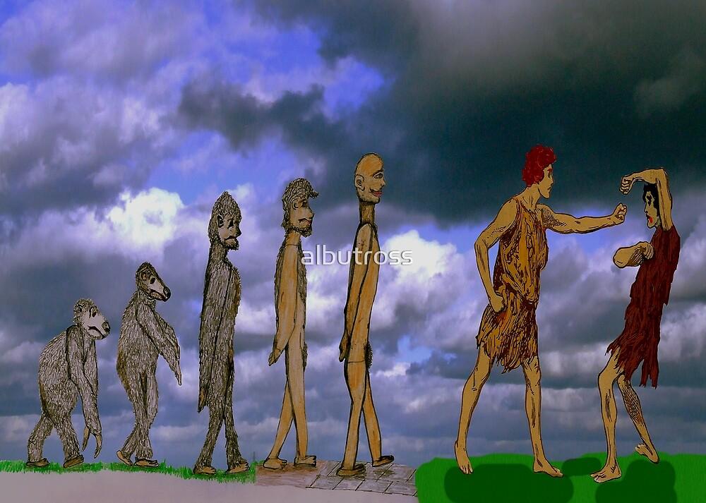 The Evolution of Man. by albutross