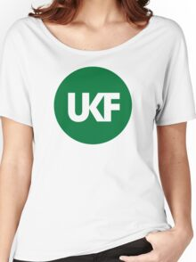 UKF-Green Women's Relaxed Fit T-Shirt
