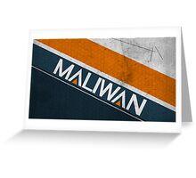 Maliwan Greeting Card