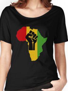 Africa Power Women's Relaxed Fit T-Shirt