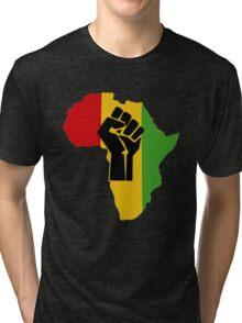Africa Power Tri-blend T-Shirt