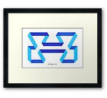 NON TECHNICAL ARTWORK Framed Print