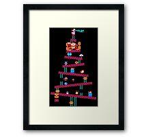 Donkey Kong Kristmas Framed Print