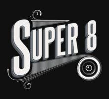 Retro Super 8 Tribute  Kids Tee