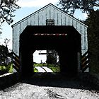 Covered Bridge-Shenks by Val Dunn