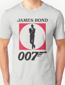 Cool James Bond Stencil Art T-Shirt