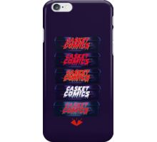 Caskets Comics Logo iPhone Case/Skin